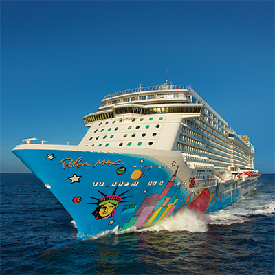 NORWEGIAN CRUISE LINE<sup>&reg;</sup> Bahamas or Caribbean Cruise - Enjoy a 3 or 4 day Caribbean cruise for 2 adults aboard one of NCL's Award-Winning Cruise Ships. Ports of call will be determined based on your desired travel dates. Airfare not included.