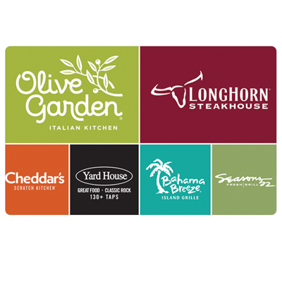 CHEDDAR'S<sup>®</sup> $25 Gift Card - Enjoy graciously served made-from-scratch cooking. This gift card is worth $25 at any Cheddar's<sup>®</sup> Scratch Kitchen restaurant.
